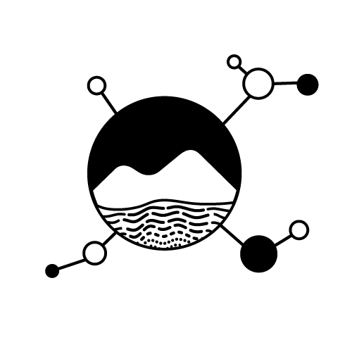 earthchem logo black and white